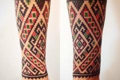 славянские орнаменты на руке