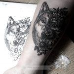 Татуировки в стиле Dotwork