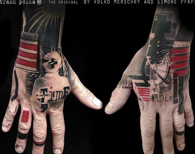 volko and simone tattoos