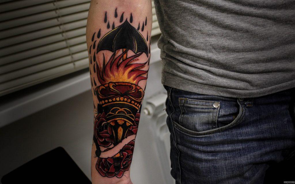 Значение татуировка Факел