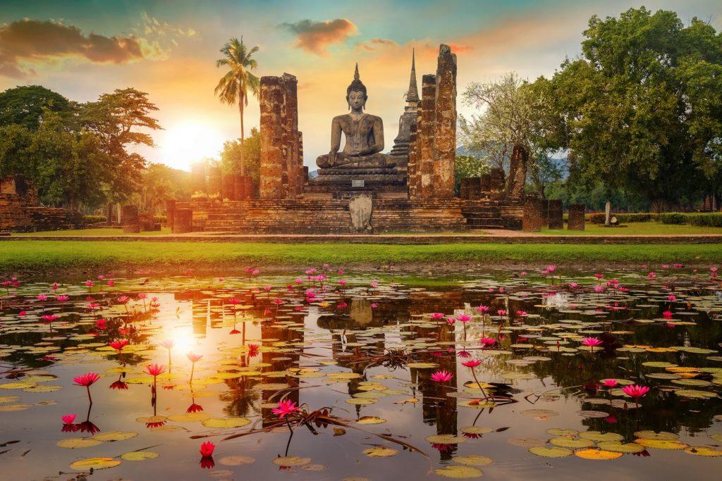 лотос в буддийской культуре