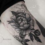 Значение татуировка Пион