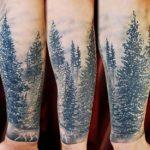 Значение татуировки лес