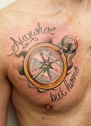 компас у мужчин