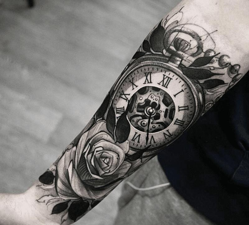 Значение татуировки часов