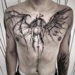 Значение татуировки ангела и демона