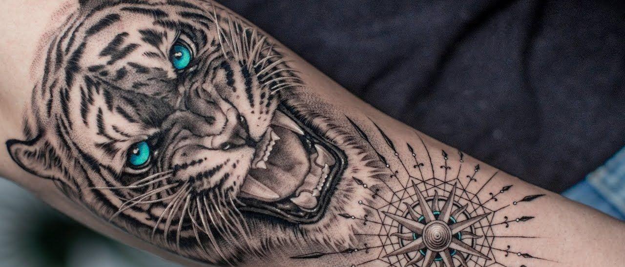 тату тигра